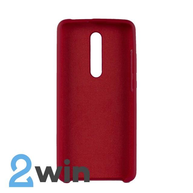 Чехол Jelly Silicone Case Xiaomi Redmi K20/K20 Pro Вишневый