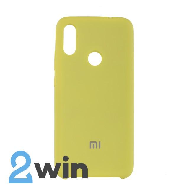 Чехол Jelly Silicone Case Xiaomi Redmi Note 7 Желтый