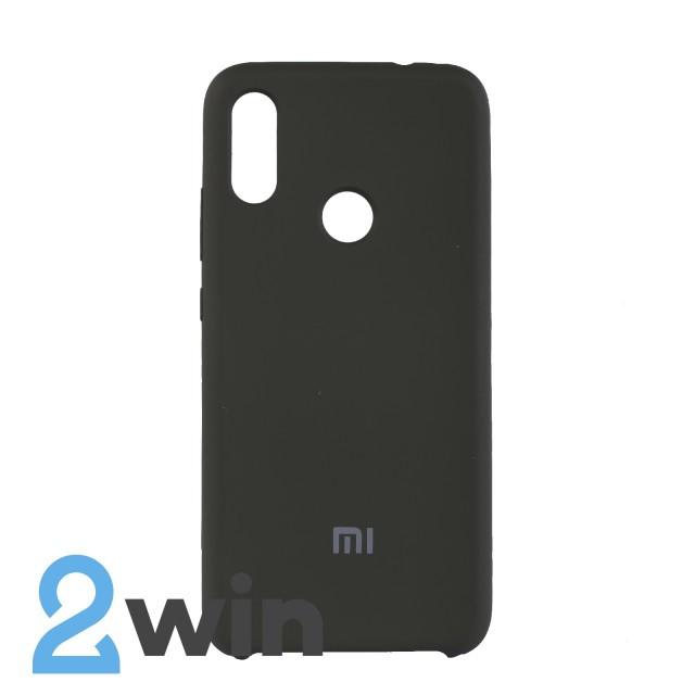 Чехол Jelly Silicone Case Xiaomi Redmi Note 7 Темно-оливковый