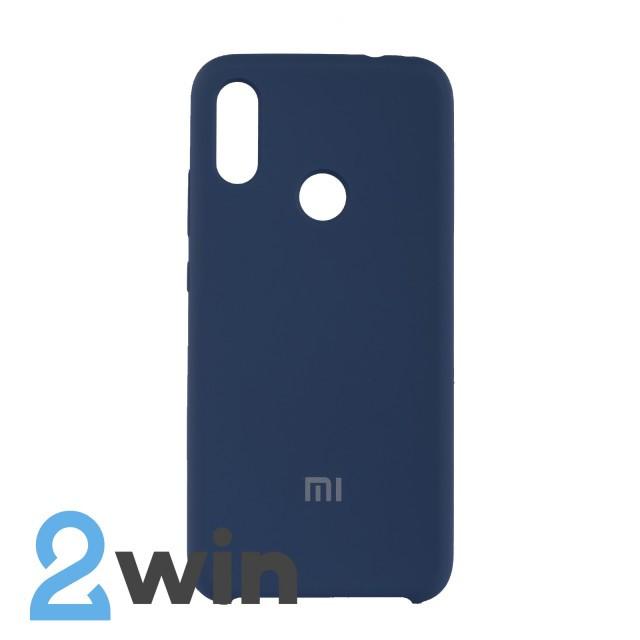 Чехол Jelly Silicone Case Xiaomi Redmi Note 7 Синий Кобальт