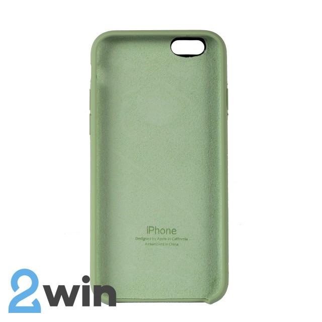 Чехол Silicone Case iPhone 6/6s Copy Mint (1)
