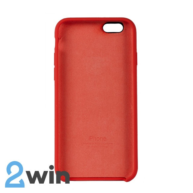 Чехол Silicone Case iPhone 6/6s Copy Orange (13)
