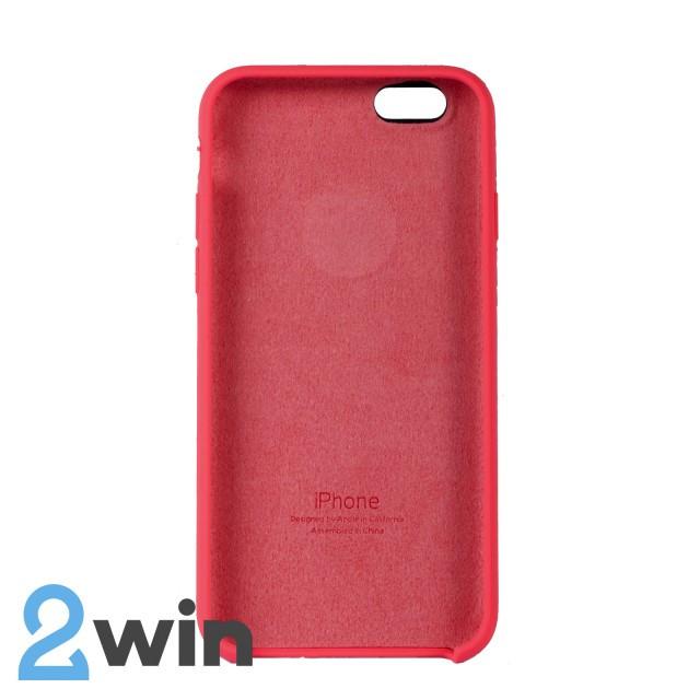 Чехол Silicone Case iPhone 6/6s Copy Cherry Red (29)