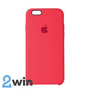 Чехол Silicone Case iPhone 6/6s Copy Cherry Red (29), фото 2