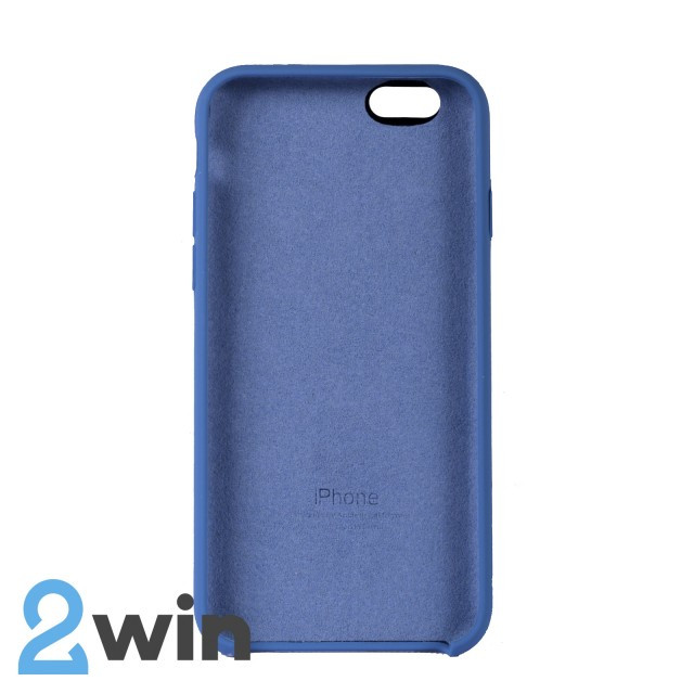 Чехол Silicone Case iPhone 6/6s Copy Denim Blue (38)