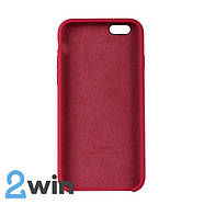 Чехол Silicone Case iPhone 6/6s Copy Red Mold Color (39), фото 2