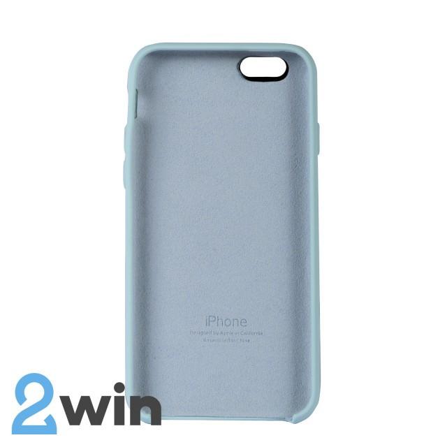 Чехол Silicone Case iPhone 6/6s Copy Light Sea Blue (44)
