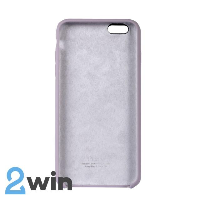 Чехол Silicone Case iPhone 6/6s Plus Copy Lavender Purple (7)