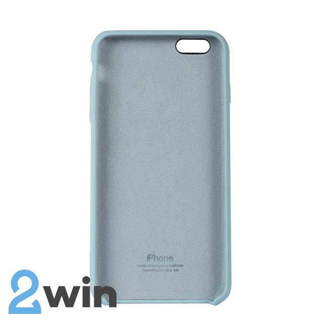 Чехол Silicone Case iPhone 6/6s Plus Copy Ice Blue (21)
