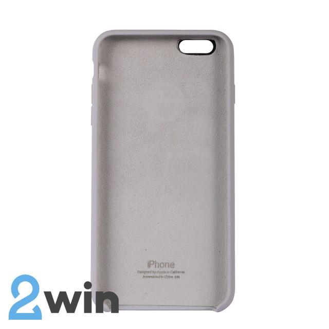 Чехол Silicone Case iPhone 6/6s Plus Copy French Grey (43)