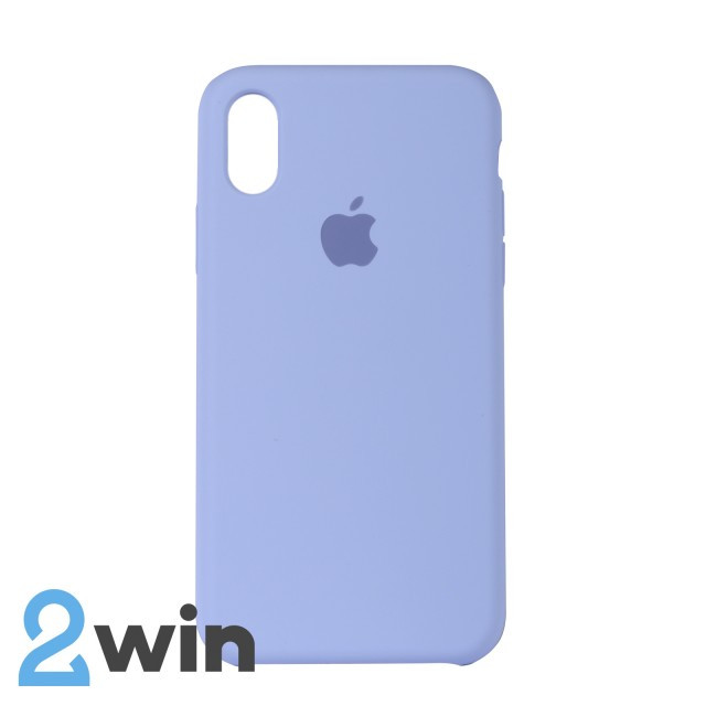 Чохол Silicone Case iPhone X/XS Copy Lilac (5)