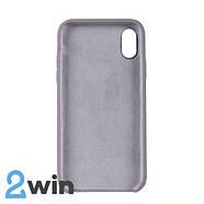 Чохол Silicone Case iPhone X/XS Copy Lavender Purple (7), фото 2