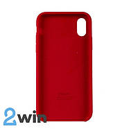 Чохол Silicone Case iPhone X/XS Copy Red (14), фото 2