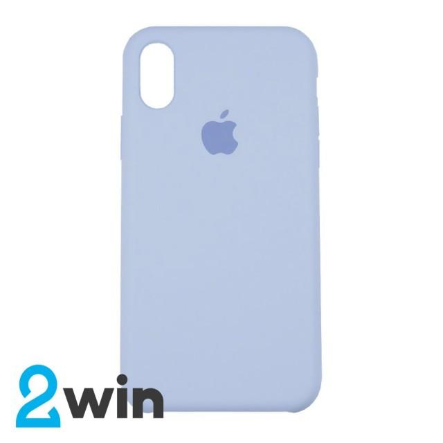 Чехол Silicone Case iPhone X/XS Copy Pebble (23)