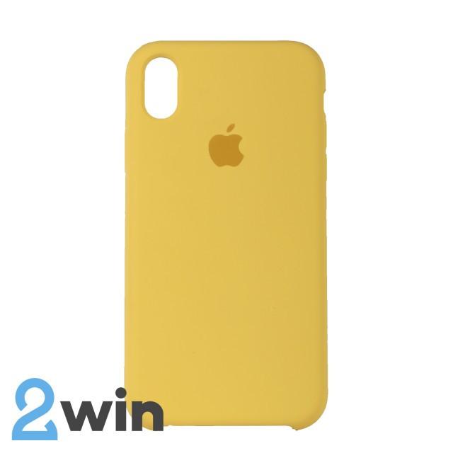 Чехол Silicone Case iPhone XR Copy Yellow (4)