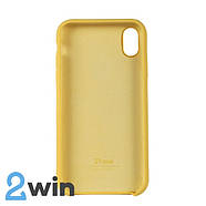 Чохол Silicone Case iPhone XR Copy Yellow (4), фото 2
