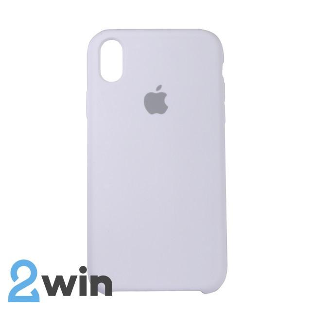 Чехол Silicone Case iPhone XR Copy White (9)