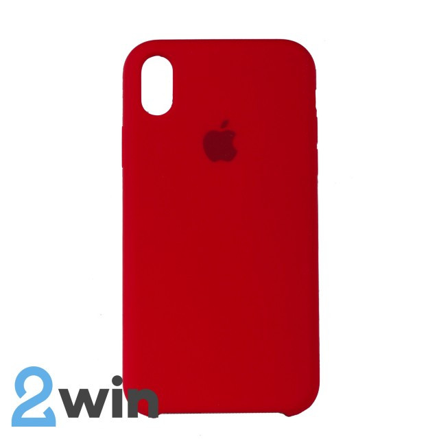 Чохол Silicone Case iPhone XR Copy Red (14)