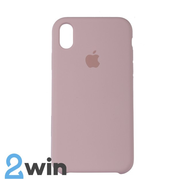 Чехол Silicone Case iPhone XR Copy Sand Pink (19)