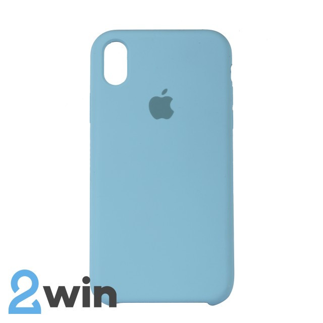 Чохол Silicone Case iPhone XR Copy Ice Blue (21)