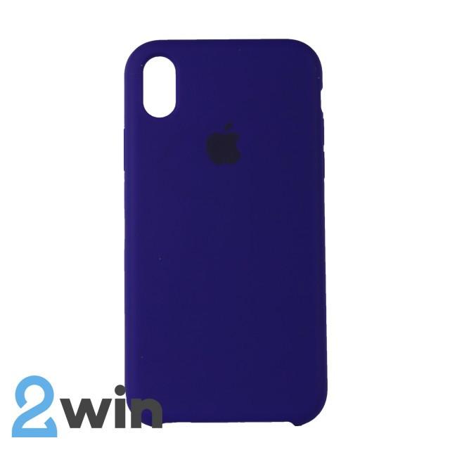 Чехол Silicone Case iPhone XR Copy Purple (30)