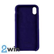 Чехол Silicone Case iPhone XR Copy Purple (30), фото 2