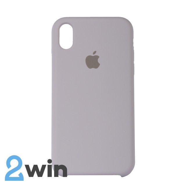 Чохол Silicone Case iPhone XR Copy French Grey (43)