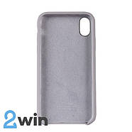 Чохол Silicone Case iPhone XR Copy French Grey (43), фото 2