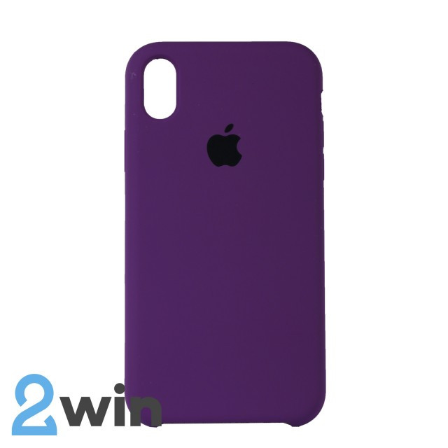 Чехол Silicone Case iPhone XR Copy Light Purple (45)