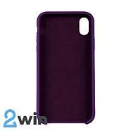 Чехол Silicone Case iPhone XR Copy Light Purple (45), фото 2