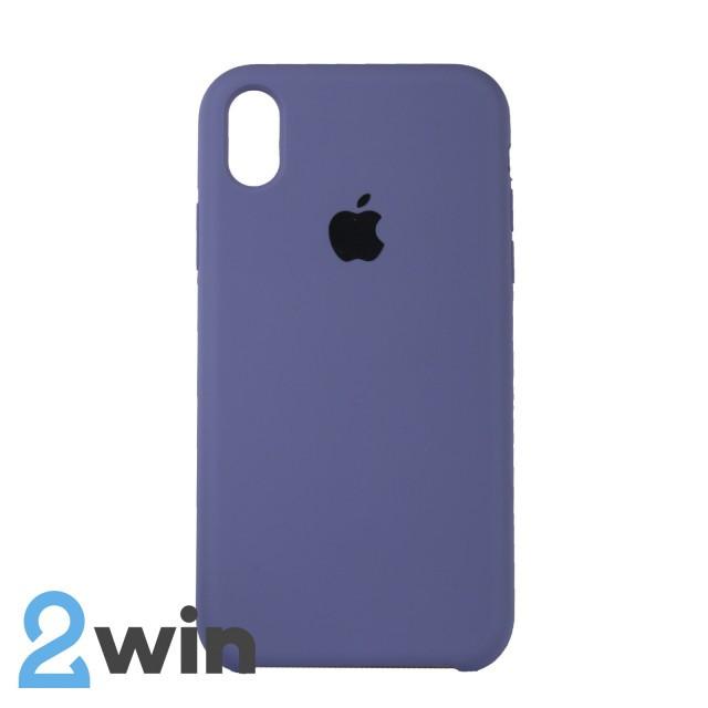 Чехол Silicone Case iPhone XR Copy Lavender Ash (46)