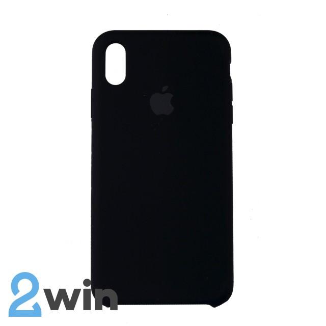 Чохол Silicone Case iPhone XS MAX Copy Black (18)