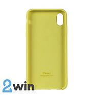 Чохол Silicone Case iPhone XS MAX Copy Shiny Yellow (32), фото 2