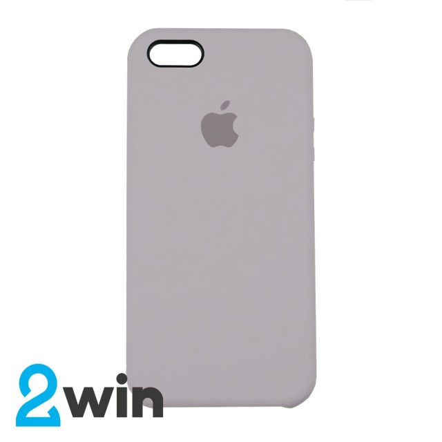 Чохол Silicone Case iPhone 5/5S/SE Copy French Grey (43)