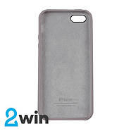 Чохол Silicone Case iPhone 5/5S/SE Copy French Grey (43), фото 2