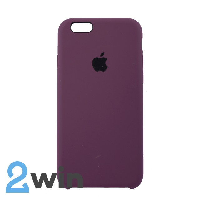 Чехол Silicone Case iPhone 6/6s Copy Violet (52)