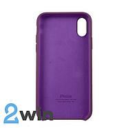 Чехол Silicone Case iPhone X/XS Copy Violet (52), фото 2