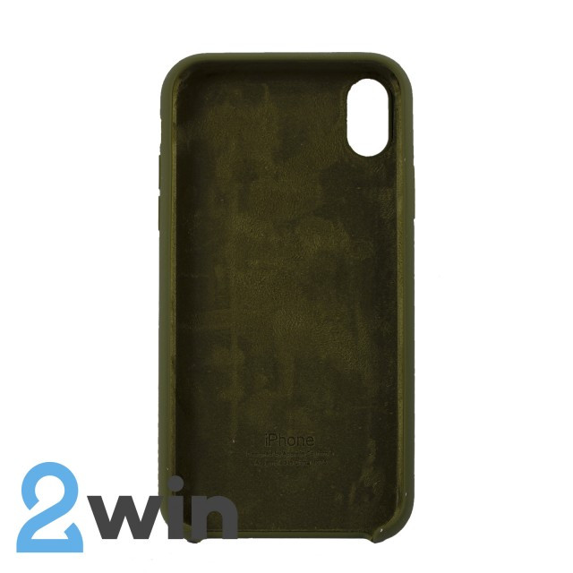 Чехол Silicone Case iPhone XR Copy Pine Forest Green (48)
