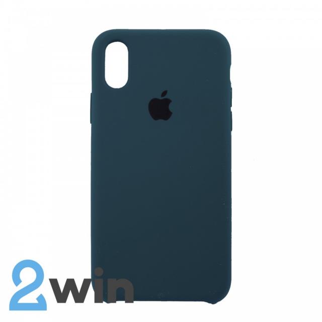 Чохол Silicone Case iPhone XR Copy Dark Green (49)