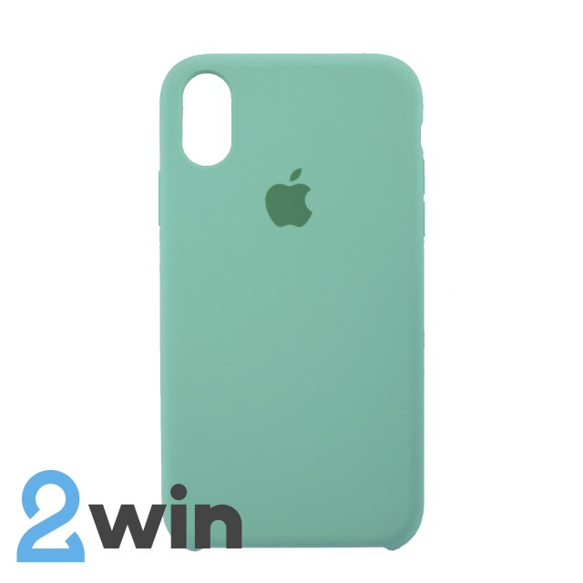 Чехол Silicone Case iPhone XR Copy Spearmint Green (50)