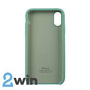 Чехол Silicone Case iPhone XR Copy Spearmint Green (50), фото 2