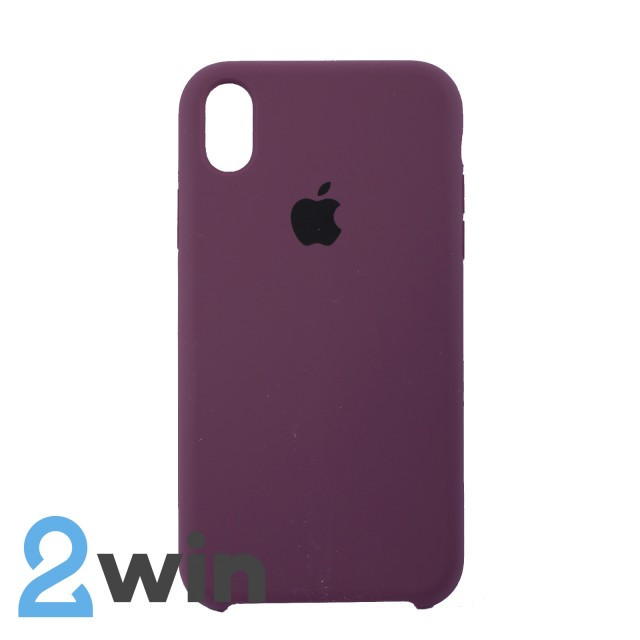 Чехол Silicone Case iPhone XR Copy Violet (52)