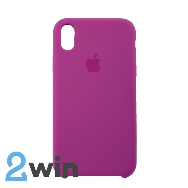 Чехол Silicone Case iPhone XR Copy Dragon Fruit (54)