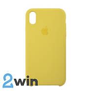Чохол Silicone Case iPhone XR Copy Light Yellow (55), фото 2