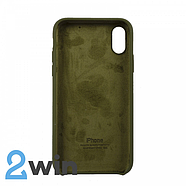 Чохол Silicone Case iPhone XS MAX Copy Pine Forest Green (48), фото 2