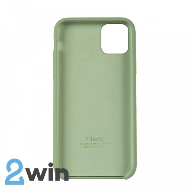 Чохол Silicone Case iPhone 11 Pro Max Copy Mint (1)