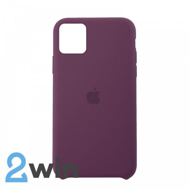 Чехол Silicone Case iPhone 11 Copy Violet (52)