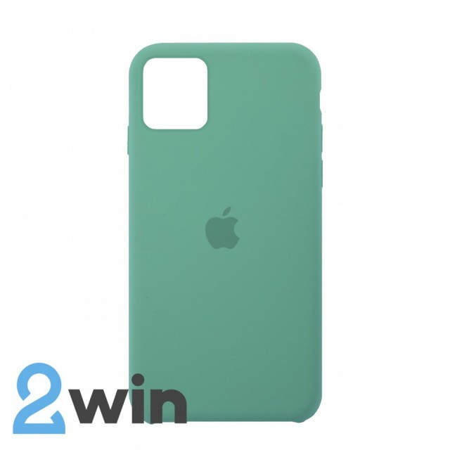 Чехол Silicone Case iPhone 11 Copy Spearmint Green (50)