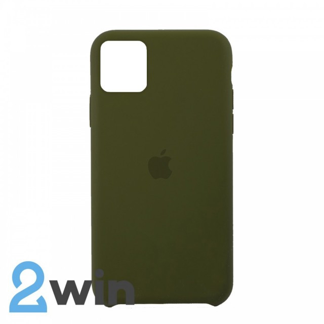 Чехол Silicone Case iPhone 11 Copy Pine Forest Green (48)