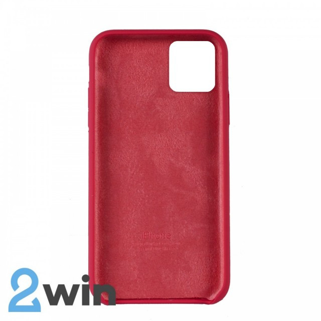Чохол Silicone Case iPhone 11 Copy Red Mold Color (39)